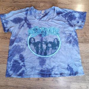 Victoria's Secret Pink Rock Band T-Shirt Aerosmith